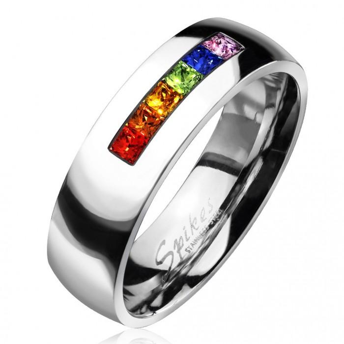chaussures de séparation bb944 1927c Bague anneau alliance femme homme acier mariage fiançaille gay lesbien